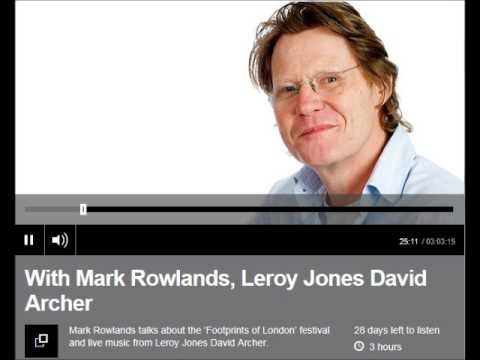 Mark Rowland on the Literary Footprints Festival 2015 (audio only)