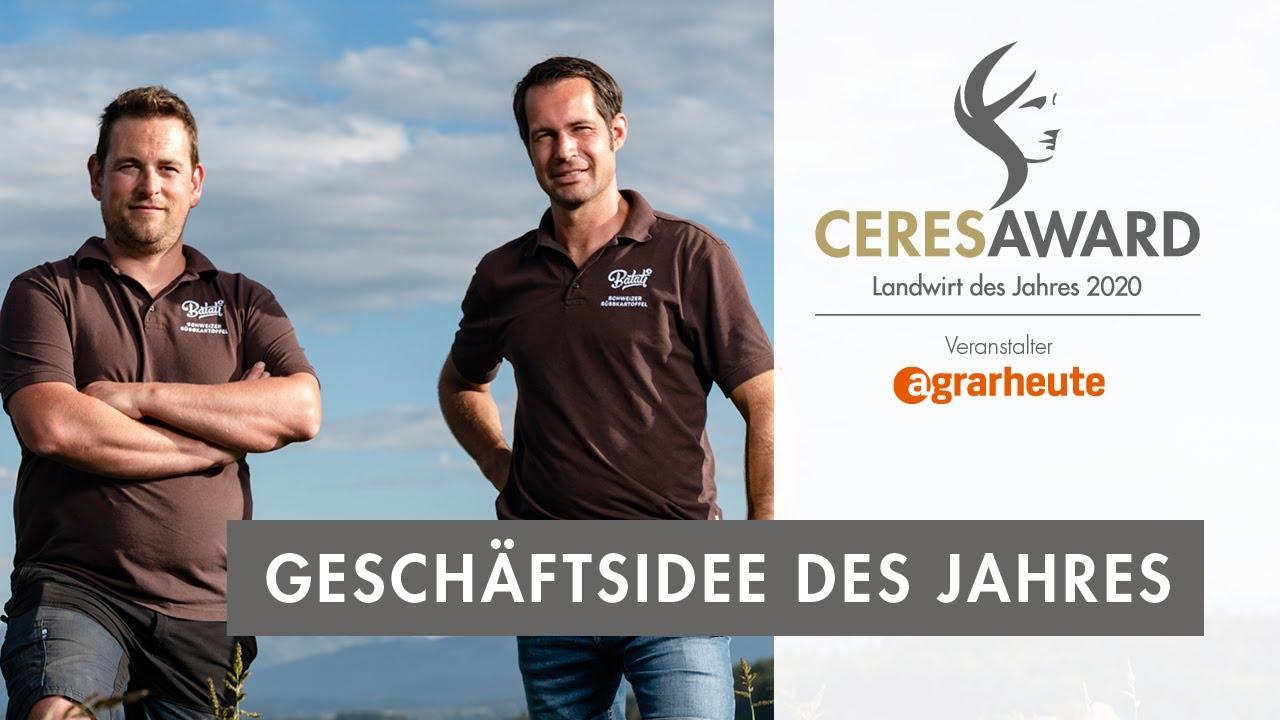 CeresAward 2020: Geschäftsidee des Jahres geht an unsere Partner mit dem Süsskartoffelprojekt Batati