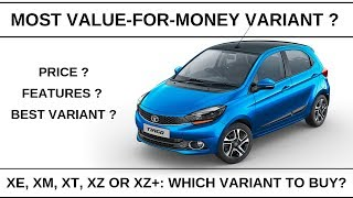 Tata Tiago Price and Features | Most value for money variant