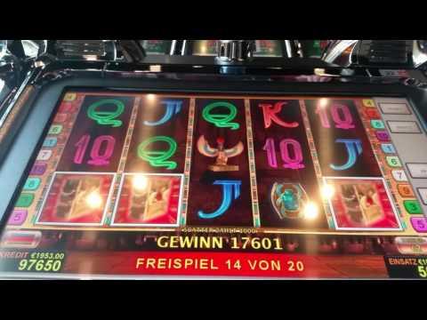 Book of Ra , Freispiele mit 10€ Einsatz. Live im Casino.