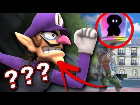 Waluigi in Smash Bros. Ultimate?