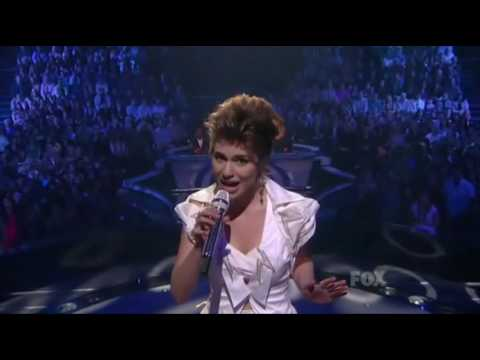 Siobhan Magnus - Suspicious Minds - Performance At American Idol 2010