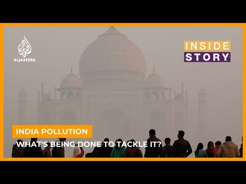 What's causing pollution in India