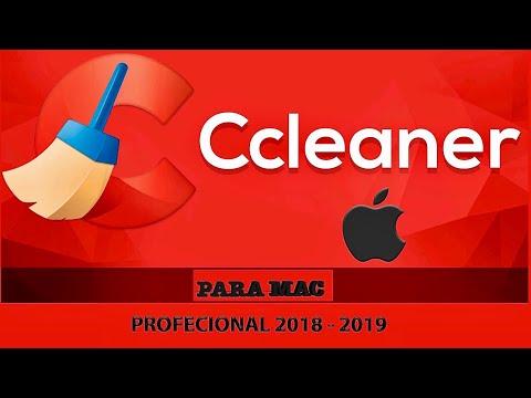 CCLEANER PROFECIONAL PARA MAC DICIEMBRE 2018