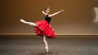 Janis Liu - Don Quixote Act 1 Kitri Variation at YLC IBC