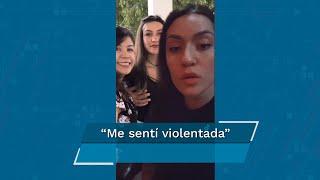 """Luego de que usuarios de redes sociales difundieron por medio de Tik Tok, un video en donde se ve al cantante Vicente Fernádez tocar un seno de una joven, quien dijo sentirse """"violentada"""" tras la difusión del video"""