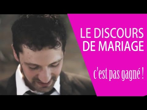 discours de mariage humoristique 1 un discours du mari tr s inspir youtube. Black Bedroom Furniture Sets. Home Design Ideas
