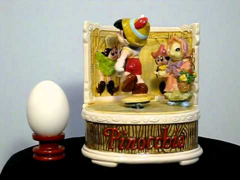 Disney land (Pinocchio-I've got no strings) music box series
