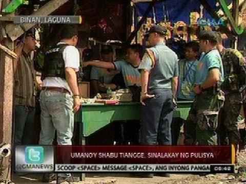 Download 24 Oras: Umano'y shabu tiangge, sinalakay ng pulisya (Biñan, Laguna)