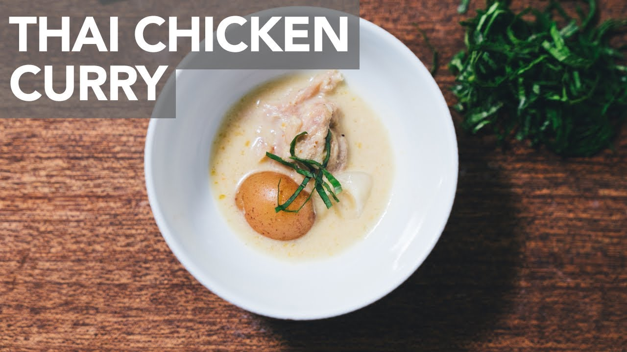 THAI YELLOW CHICKEN CURRY - Instant Pot - YouTube