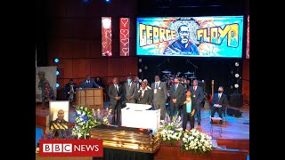 "George Floyd service is told ""pandemic of racism"" led to his death - BBC News"
