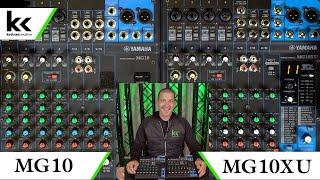 Yamaha MG10 Vs MG10XU Audio Mixing Console