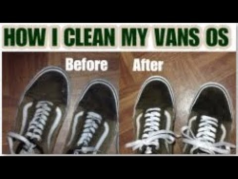 HOW TO CLEAN VANS OS | VANS OS RESTORATION