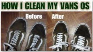 HOW TO CLEAN VANS OS   VANS OS RESTORATION