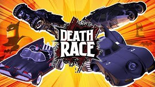 Batmobile BATTLE! Batman & Robin VS Dark Knight | DEATH RACE