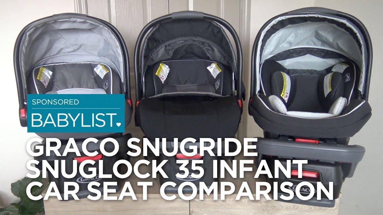 Graco SnugRide SnugLock 35 Infant Car Seat Comparison 35