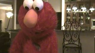 Elmo makes a Surprise Visit to a Birthday Girl's House