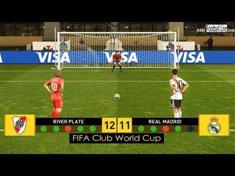 PES 2019 | RIVER PLATE Vs REAL MADRID | Final FIFA Club Wolrd Cup | Penalty Shootout | Gameplay PC