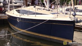 2015 Hunter 37 Sailing Yacht - Deck and Interior Walkaround - 2015 Annapolis Sail Boat Show