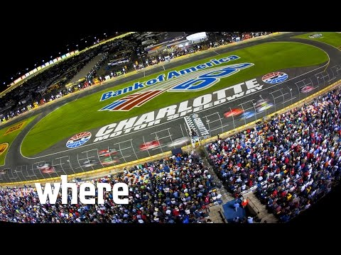 Inside the VIP NASCAR experience at Charlotte Motor Speedway
