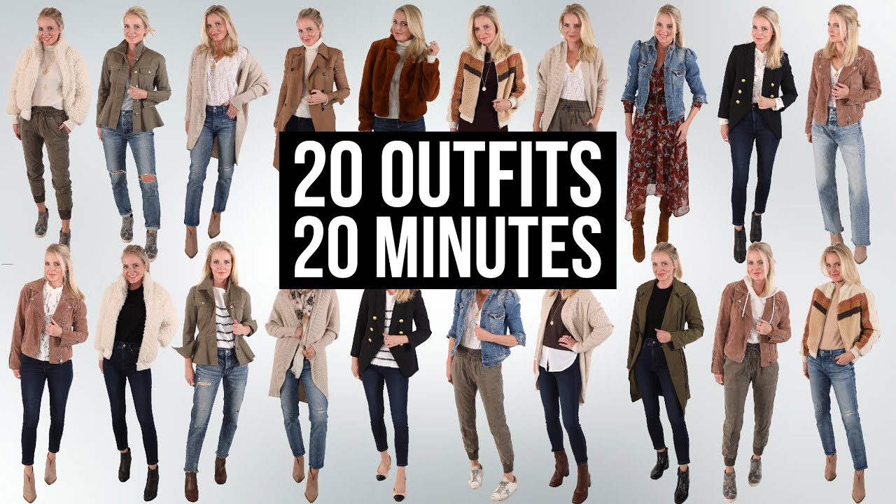 20 On Trend Fall Outfits In Under 20 Minutes for Women Over 40