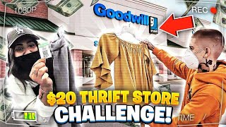 THRIFT STORE CHALLENGE! 😳 $20 LIMIT! WHO WON?! 🤔 VicBlends 💈