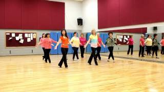 First In Line - Line Dance (Dance & Teach in English & 中文)