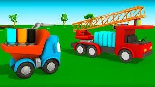 Грузовичок Лева Малыш и Пожарная Машина. НОВЫЙ мультик 3D Мультфильмы для детей про машинки