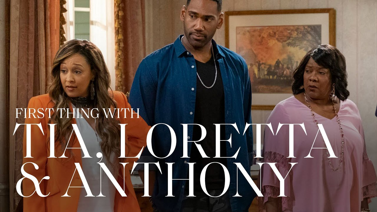 Tia Mowry, Loretta Devine & Anthony Alabi On Filming Family Reunion & More   First Thing With