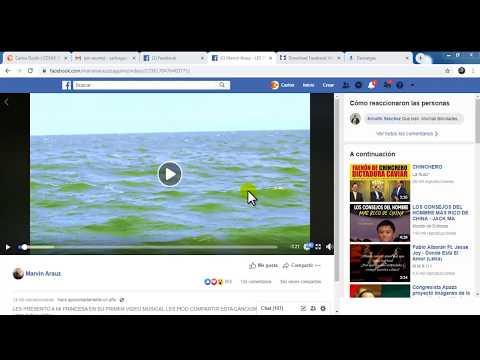 FACEBOOK COMO DESCARGAR VIDEO O AUDIO MP3  SIN PROGRAMAS- GRATIS 2019