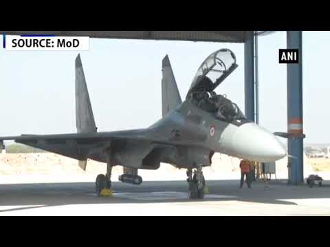 Defence Minister Nirmala Sitharaman undertakes sortie in Sukhoi 30 MKI fighter jet