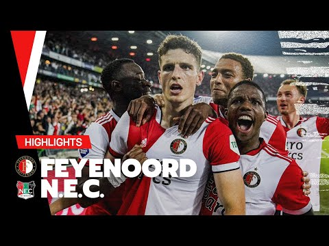 Feyenoord Nijmegen Goals And Highlights