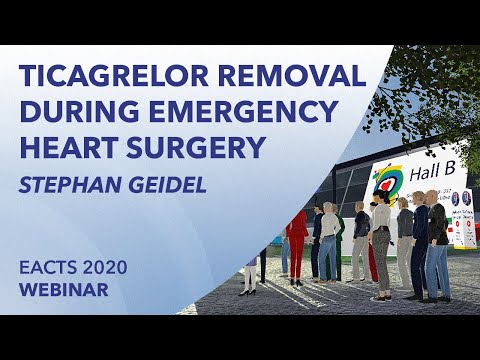 Removal of Ticagrelor during emergency heart surgery  | Stephan Geidel | EACTS 2020