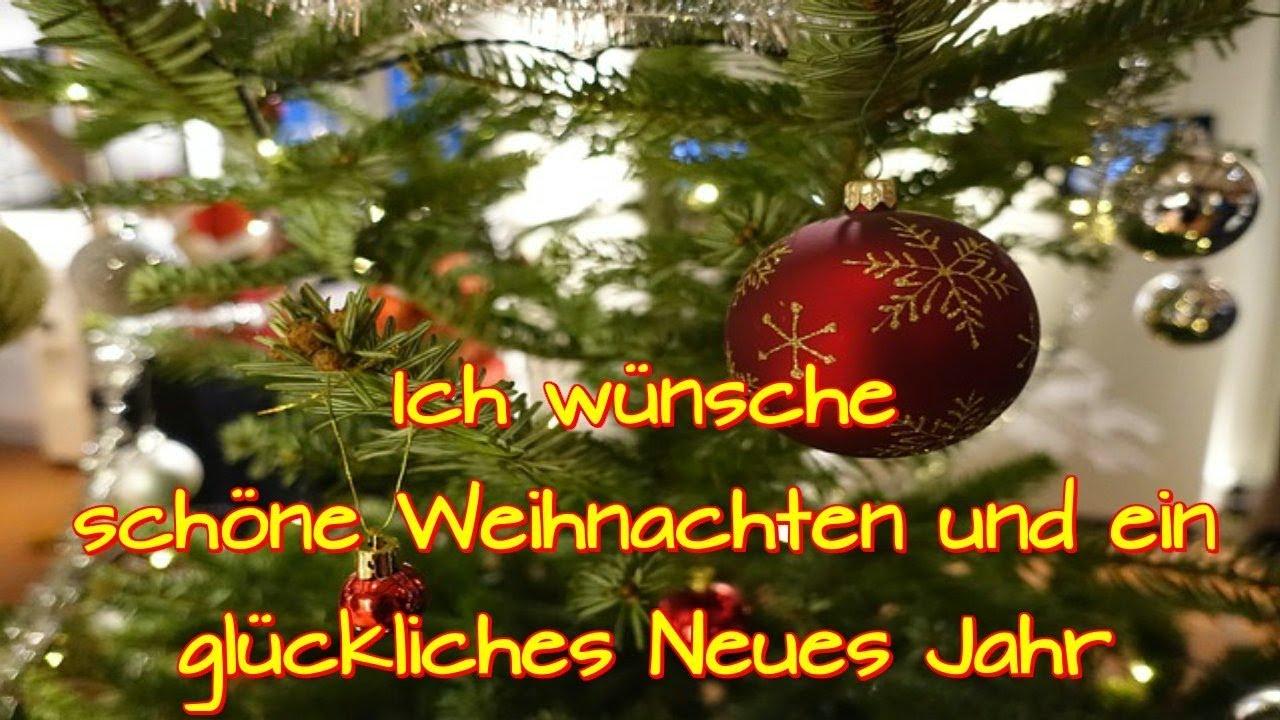 ich w nsche sch ne weihnachten und ein gl kliches neues jahr silvester sch n feiern youtube