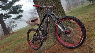 NS Bikes Snabb E enduro mountain bike frameset unboxing and build 2015 gopro hero black