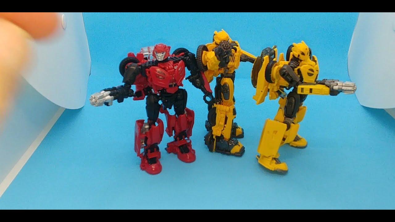 Chuck's Reviews Transformers Studio Series B-127 Cybertronian Bumblebee