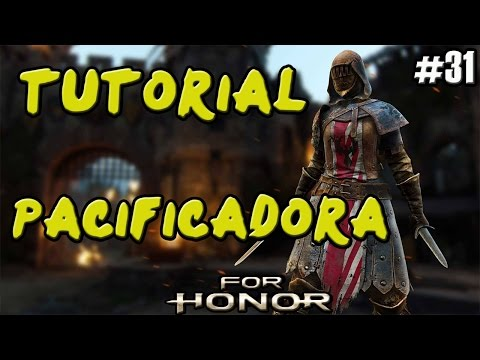 FOR HONOR | GUIA TUTORIAL CABALLEROS PACIFICADORA (PEACEKEEPER) | COMBOS Y TRUCOS | GAMEPLAY ESPAÑOL
