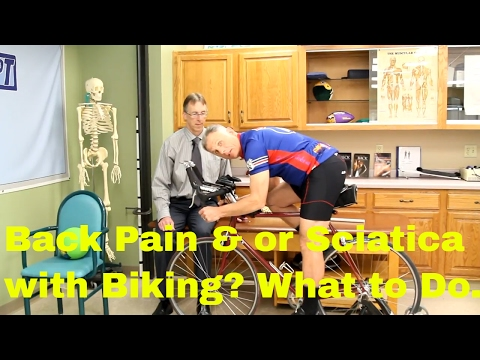 Back Pain & or Sciatica with Biking? Bicycle Pain-Free with these Tips.
