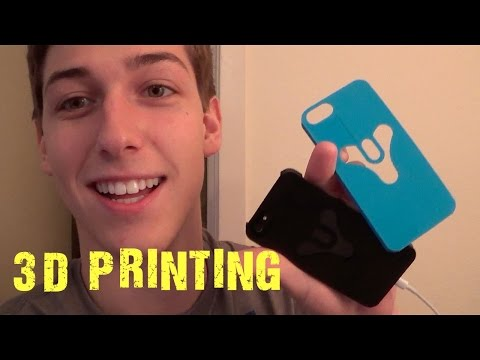 3D Printing Using AutoCAD And XYZ Software!