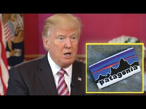 LOOK! PATAGONIA JUST ENDED THEIR COMPANY WITH THE SICK THING THEY DID TO TRUMP