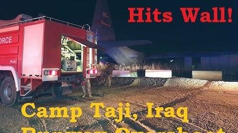 Wyoming ANG C-130H  Incident Camp Taji, Iraq 8 Jun 2020
