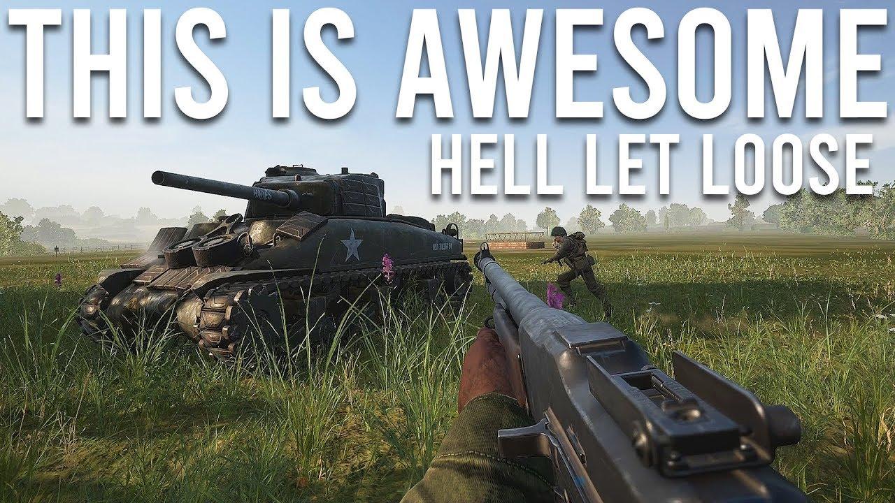 Hell Let Loose é tão incrível (Realistic WW2 Shooter) + vídeo