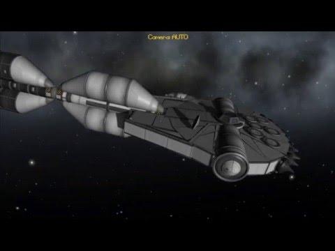 KSP - Millennium Falcon to Jool