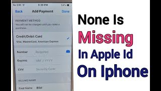 Gambar cover None Problem in payment method Removal  from iphone  Apple Id  Not Showing None Opition  '2019'