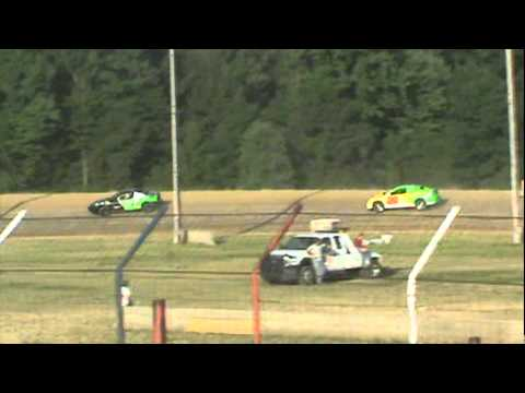 Bob's July 10th, 2011 Dog Hollow Speedway Modified Four-Cylinder Heat