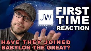 Ex Jehovah's Witness Reacts to JW TV Broadcasting - Have they joined Babylon the Great?