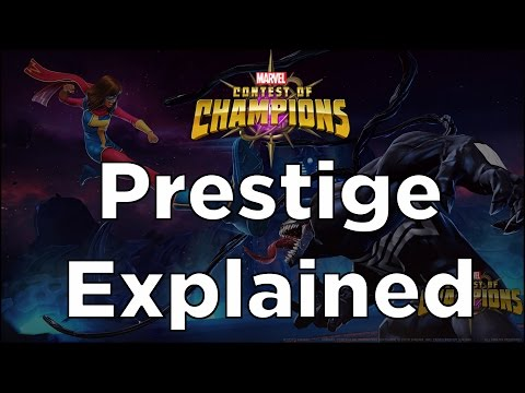 Prestige Explained + How To Calculate Your Prestige - Marvel Contest of Champions