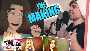 #FinalClash - The Making #7 ❤️ VOICE ACTING