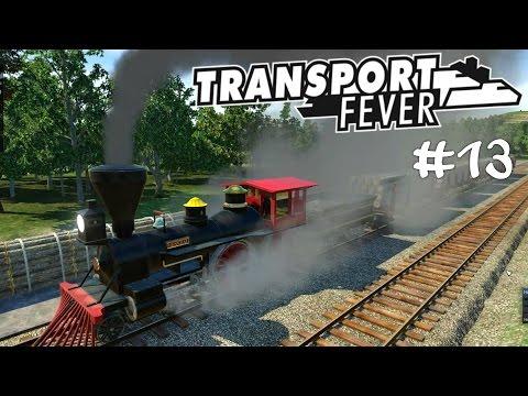 TRANSPORT FEVER #13 Kampagne: Kevin-Zug - AB IN DIE ECKE (das Depot) ☆ Let's Play Transport Fever