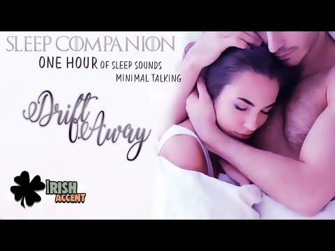 ASMR - Drift Away (Sleep Companion) (1 Hour Sleep Sounds)